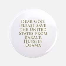 """Save Us 3.5"""" Button (100 pack)"""