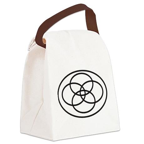 Plural Pride Symbol Canvas Lunch Bag