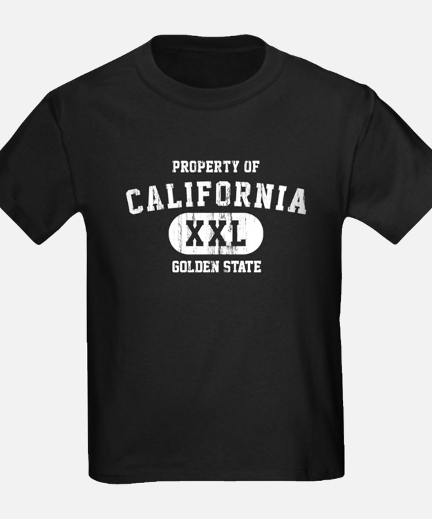 Property of California the Golden State T