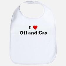 I Love Oil and Gas Bib