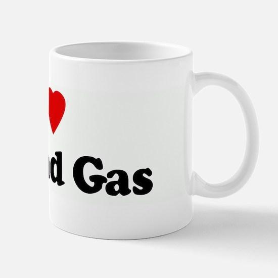 I Love Oil and Gas Mug