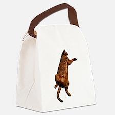 Rub My Tummy Canvas Lunch Bag