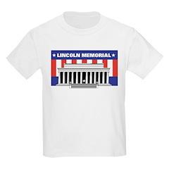 Lincoln Memorial Kids T-Shirt