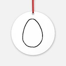 An Egg Ornament (Round)