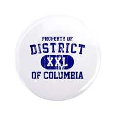"""Property of District Of Columbia 3.5"""" Button"""