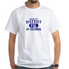 Property of District Of Columbia Shirt