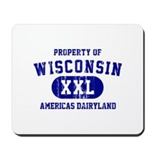 Property of Wisconsin Mousepad