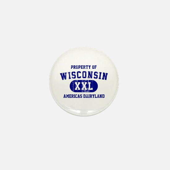 Property of Wisconsin Mini Button