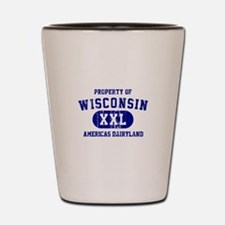 Property of Wisconsin Shot Glass