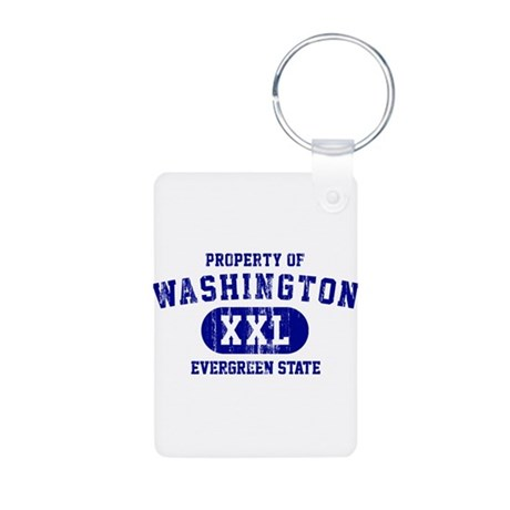 Property of Washington the Evergreen State Aluminu