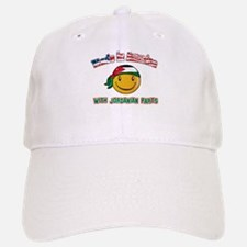 Jordanian Smiley Designs Baseball Baseball Cap