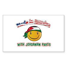 Jordanian Smiley Designs Decal