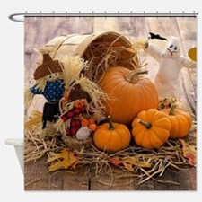 Fall Season Shower Curtain