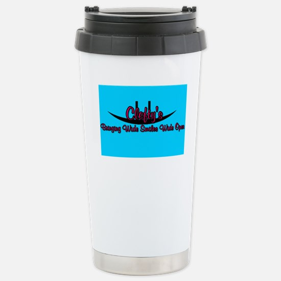 Clefty's Stainless Steel Travel Mug