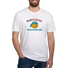 Kazakhstan Smiley Designs Shirt