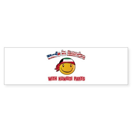 Kuwaiti Smiley Designs Sticker (Bumper)
