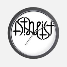 Atheist Either Way Wall Clock