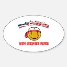 Lebanese Smiley Designs Decal