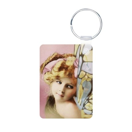 Faery Child Aluminum Photo Keychain