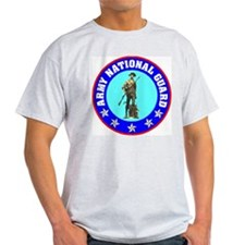 Grey Army National Guard T-Shirt