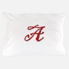 Red Letter A Pillow Case