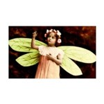 Pretty Victorian Fairy Princess 35x21 Wall Decal