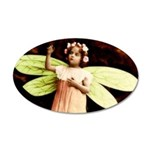 Pretty Victorian Fairy Princess 35x21 Oval Wall De