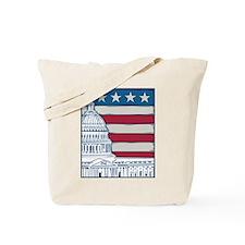 Vintage Washington Tote Bag