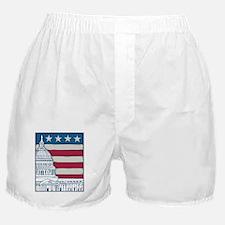 Vintage Washington Boxer Shorts