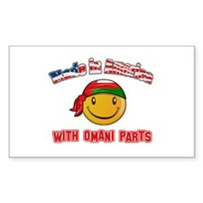 Omani Smiley Designs Decal