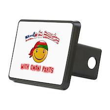 Omani Smiley Designs Hitch Cover