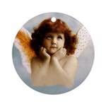 Littlest Angel Ornament (Round)