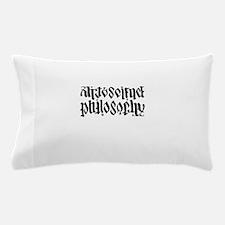 Art Science is Philosophy Pillow Case