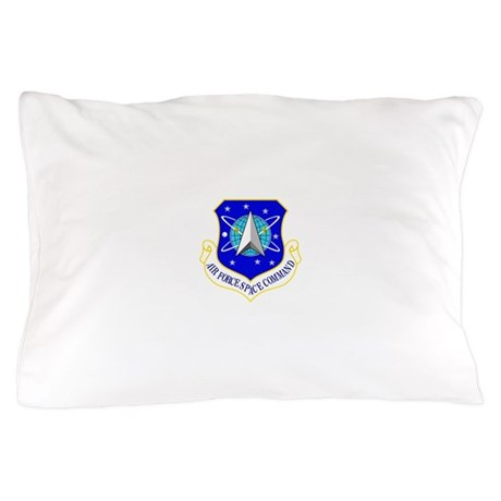 USAF Air Force Space Command Shield Pillow Case