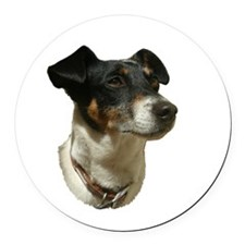 best jack russell.png Round Car Magnet