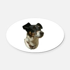 best jack russell.png Oval Car Magnet