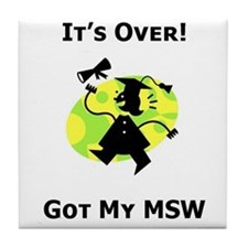 Got My MSW Tile Coaster