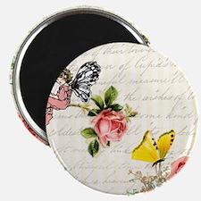 "Vintage fairy garden 2.25"" Magnet (10 pack)"