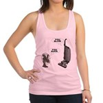 FIN-you-suck-you-blow.png Racerback Tank Top