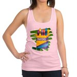 crayons.png Racerback Tank Top