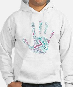 Autism Awareness - Talk To The Hand Hoodie