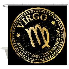 Zodiac Virgo Shower Curtain