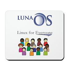 Luna OS mousepad