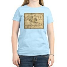 Vintage Aries Celestial Map T-Shirt
