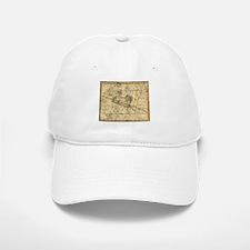 Vintage Aries Celestial Map Baseball Baseball Cap