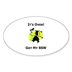 Got My BSW Oval Decal