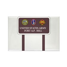 Fort A. P. Hill Rectangle Magnet