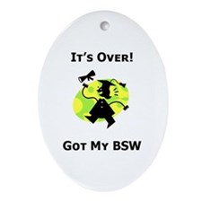 Got My BSW Oval Ornament