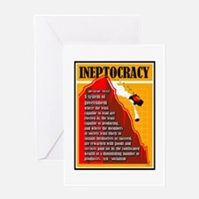Ineptocracy Greeting Cards