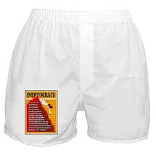 Cute Ineptocracy Boxer Shorts
